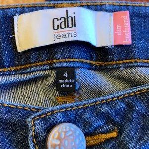 CAbi Jeans - Cabi sz 4 straight leg ex cond jeans